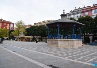 Plaza de Pombo escenario
