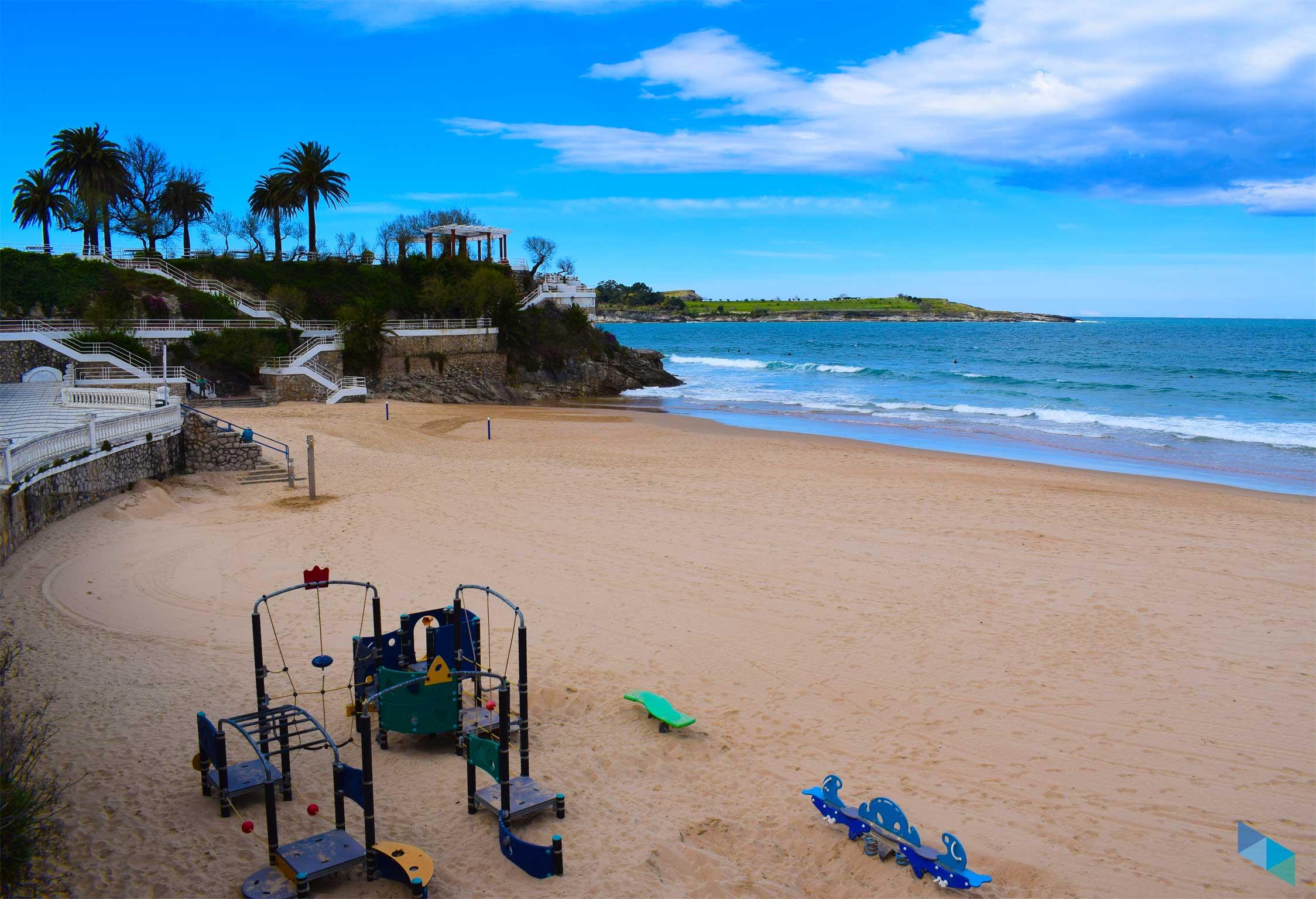 Primera Playa del Sardinero Zona de Niños