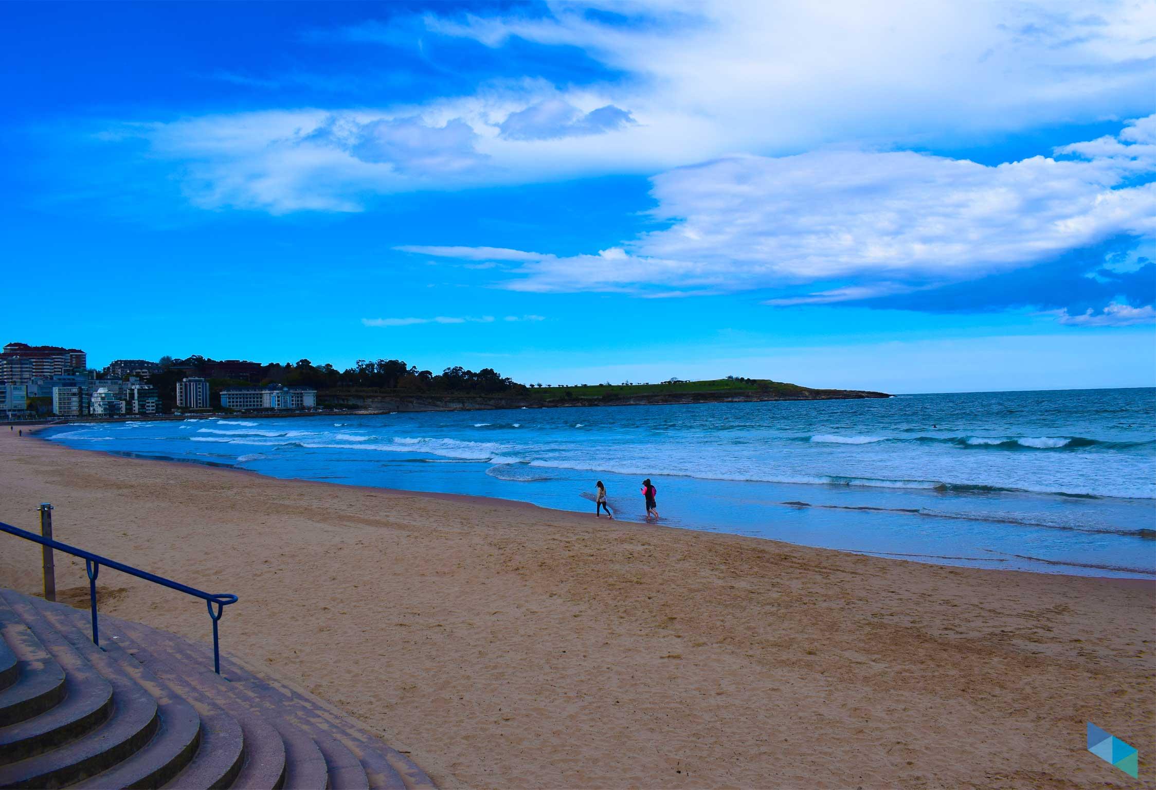 Segunda playa del Sardinero
