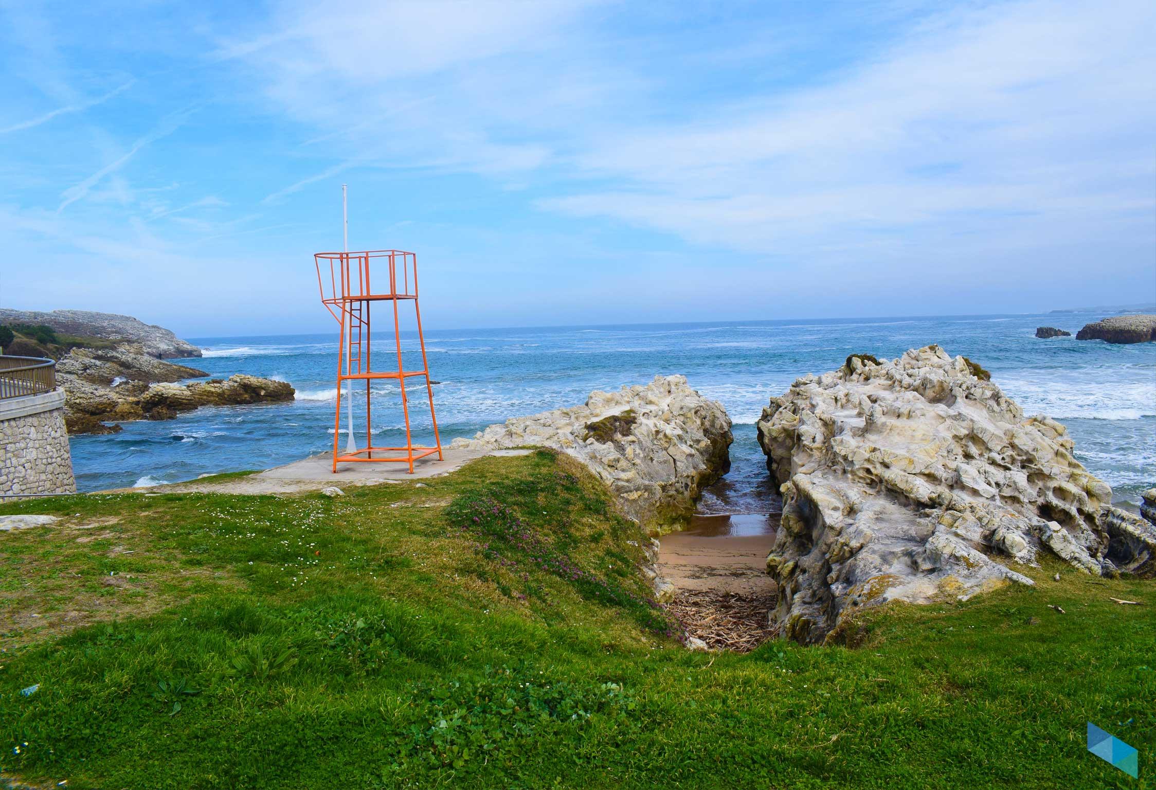Playa de la Virgen del Mar Socorrista