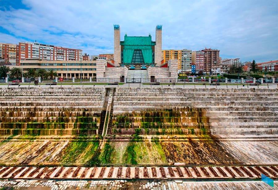 Video Mapping sobre la fachada sur del Palacio de Festivales