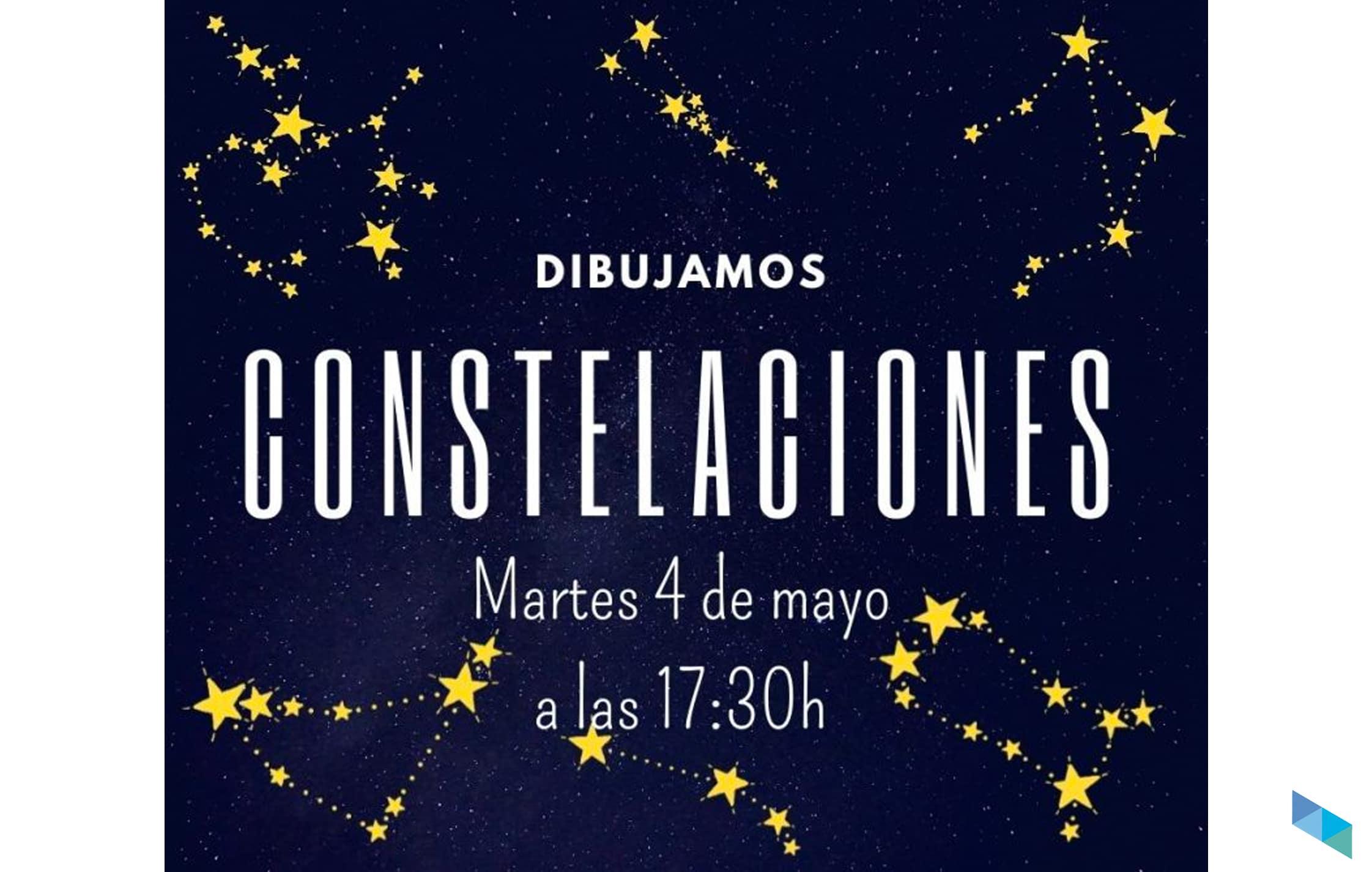 """Actividad infantil """"Dibujamos constelaciones"""""""