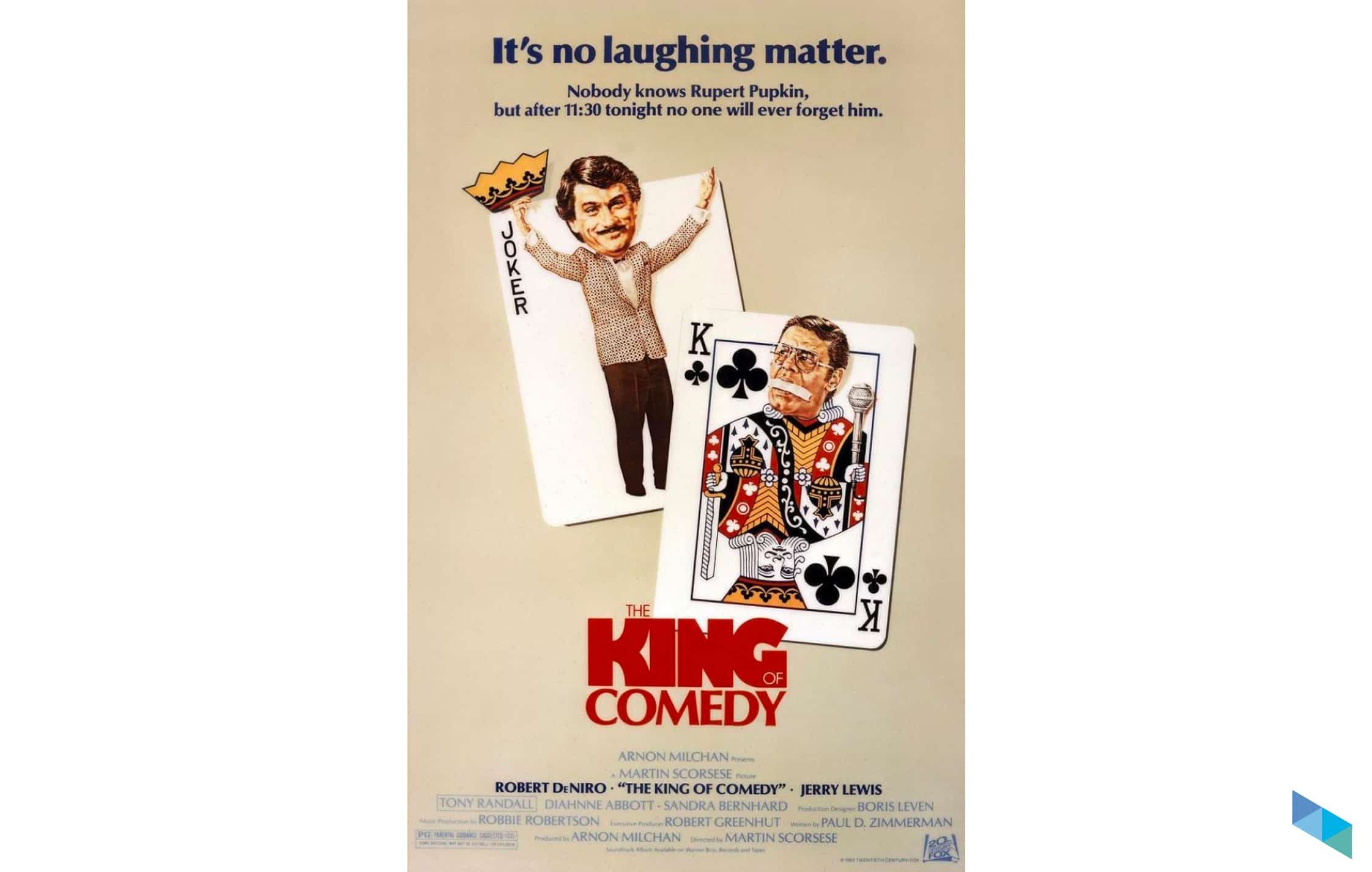 """""""El rey de la comedia"""", de Martin Scorsese (V.O.S.)"""