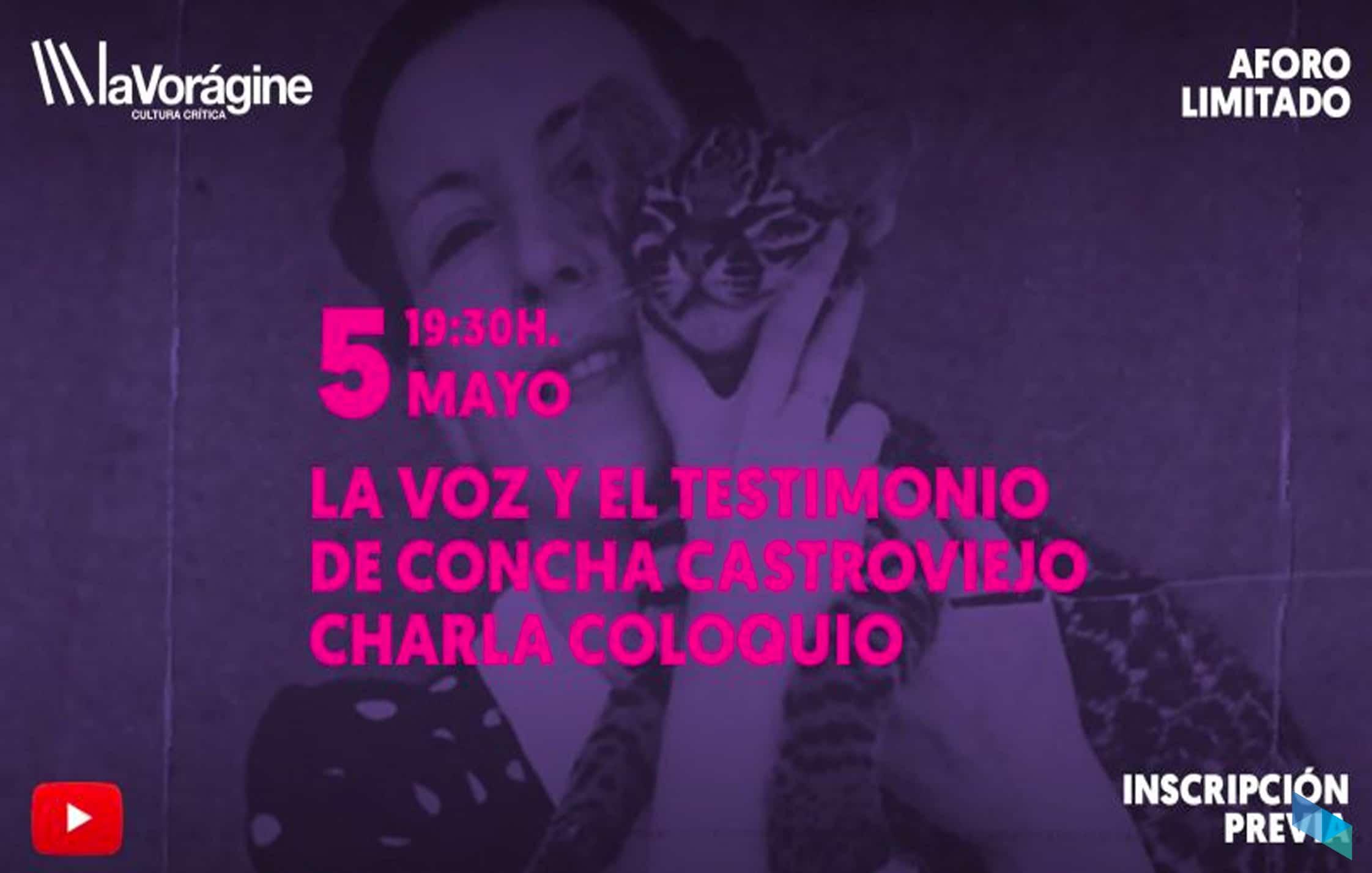 """""""La voz y el testimonio de Concha Castroviejo"""", charla-coloquio"""