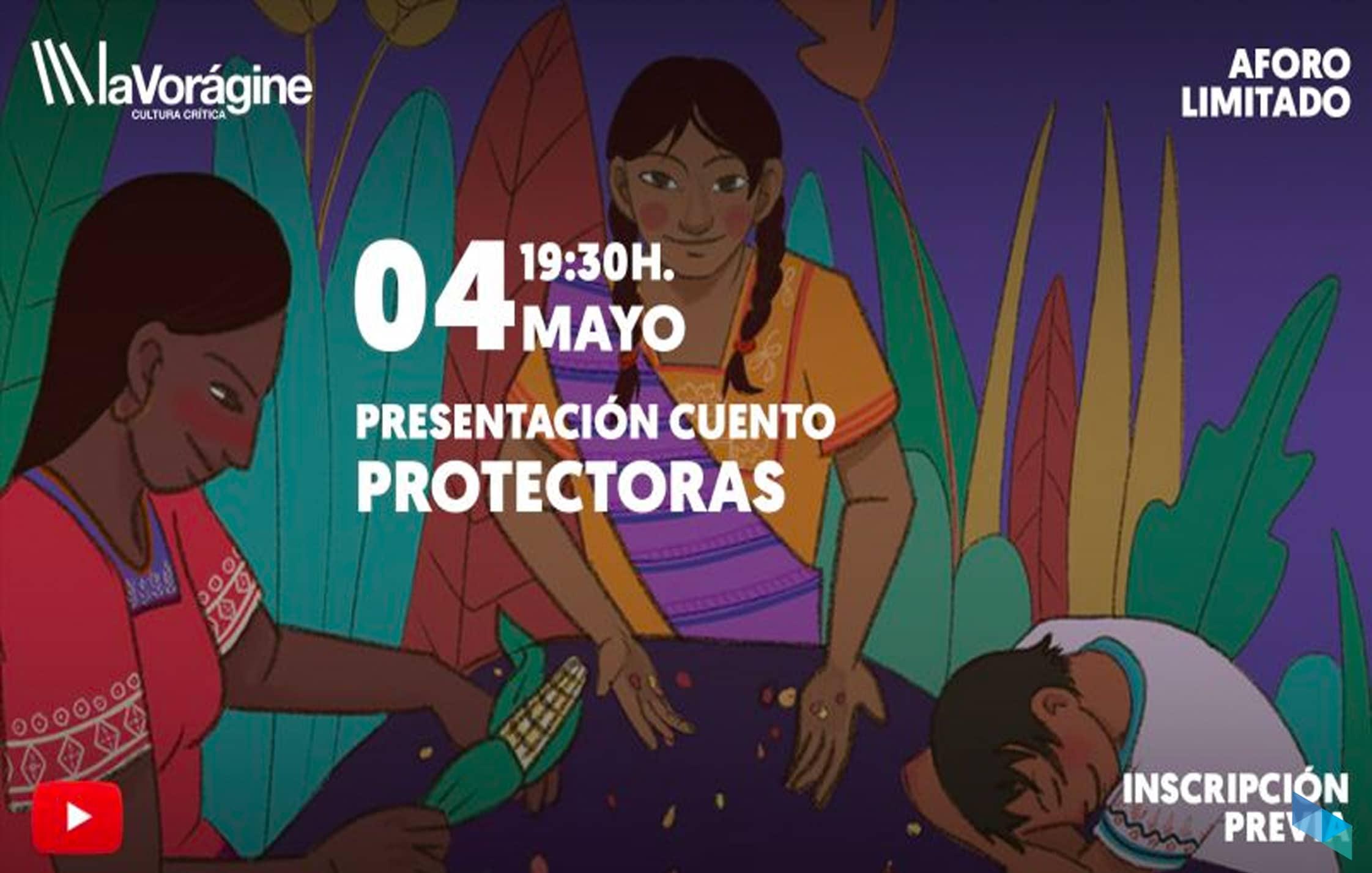 """Presentación del cuento """"Protectoras"""""""