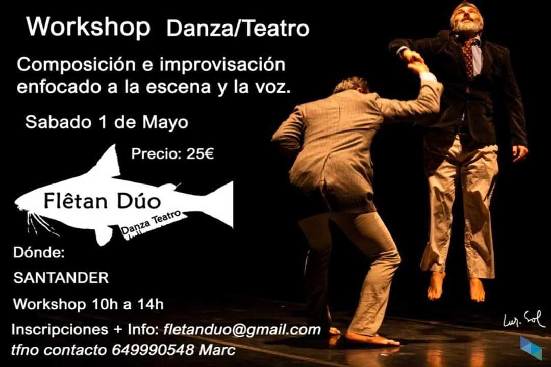 Workshop de danza/teatro con Flêtan Dúo