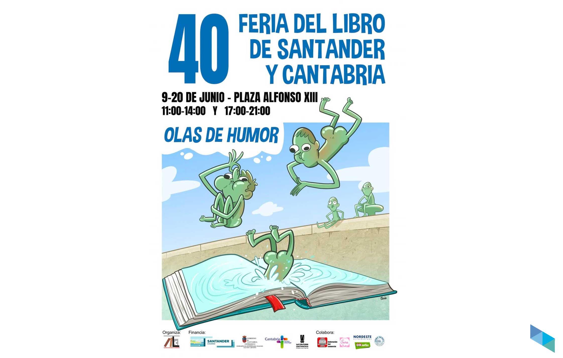 40ª Feria del Libro de Santander y Cantabria