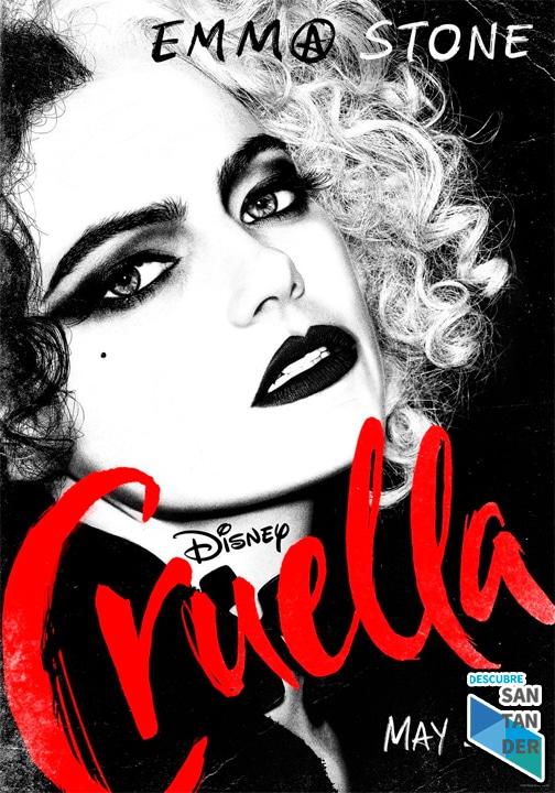 Cruella 2021 cartelera Santander
