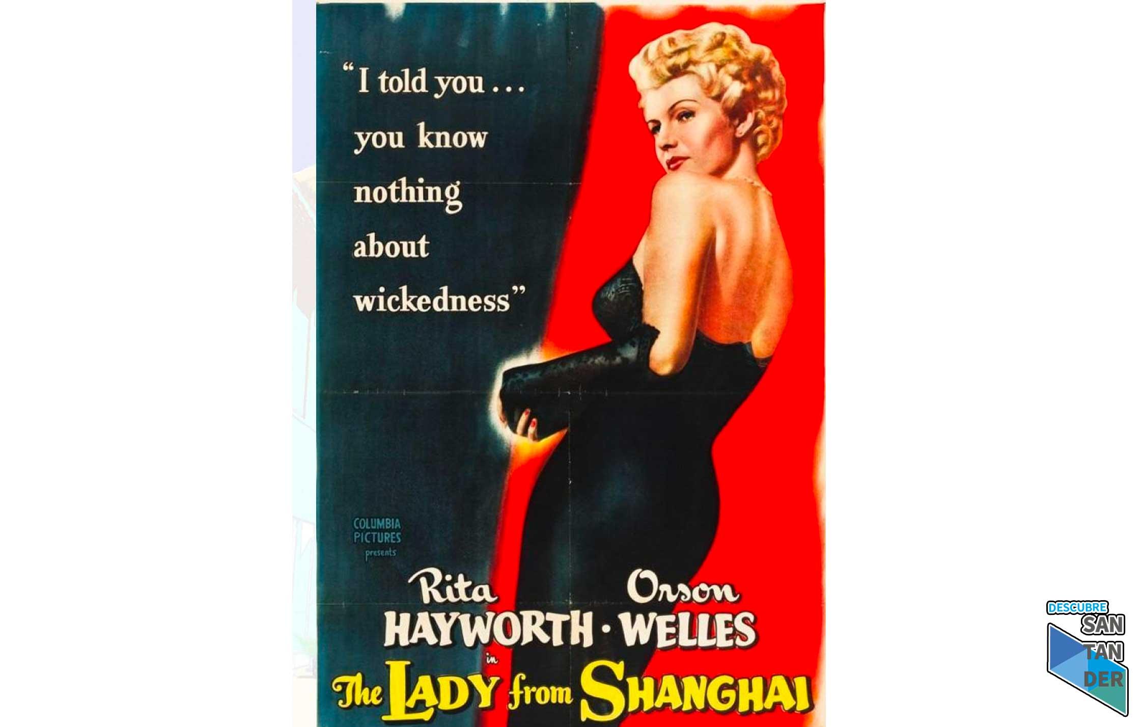 """""""La dama de Shangai"""" de Orson Welles (V.O.S.)"""