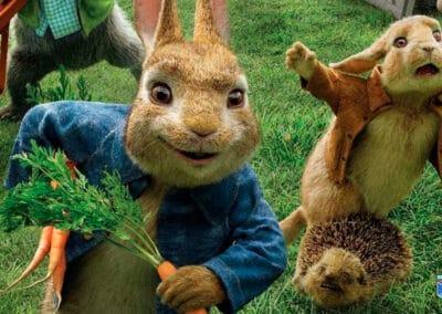 peter rabbit 2 a la fuga cartelera Santander