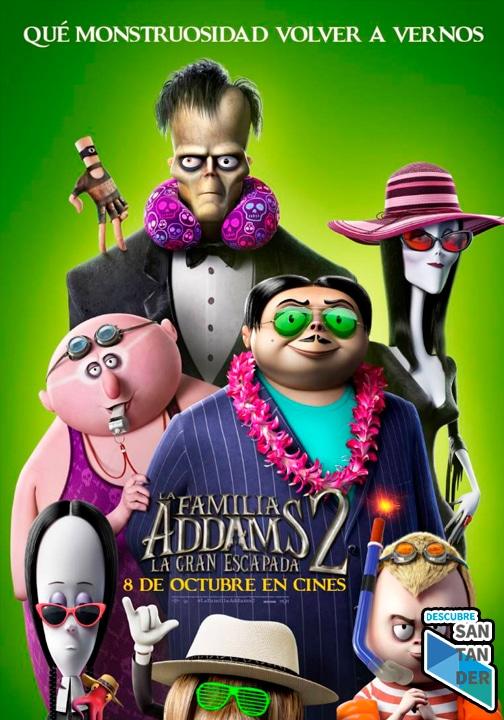 cartelera santander La Familia Addams 2 - La Gran Escapada